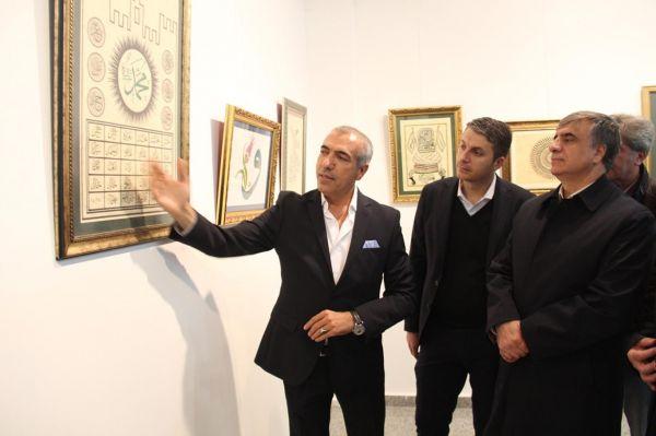 Diyarbakır'da Aşk-ı Hat sergisi açıldı