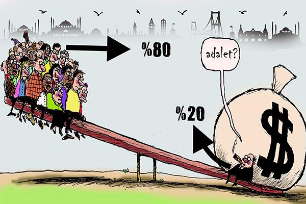 İstanbul'da gelir adaletsizliği