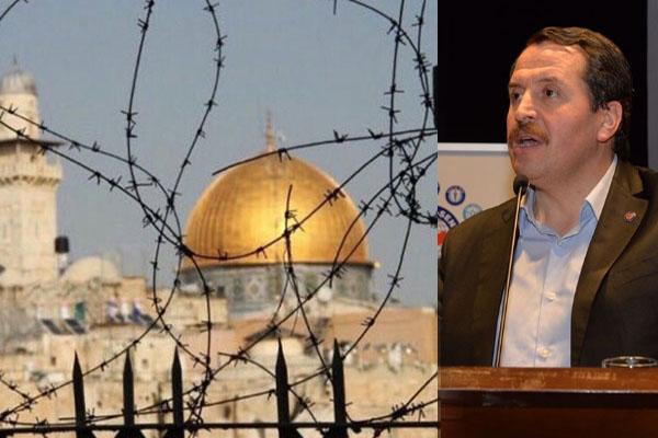 Filistin ve Kudüs halkının yanındayız