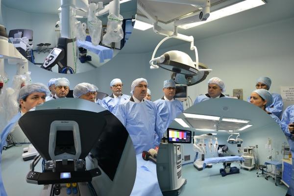 20 milyonluk robotik cerrahi cihazı hizmette