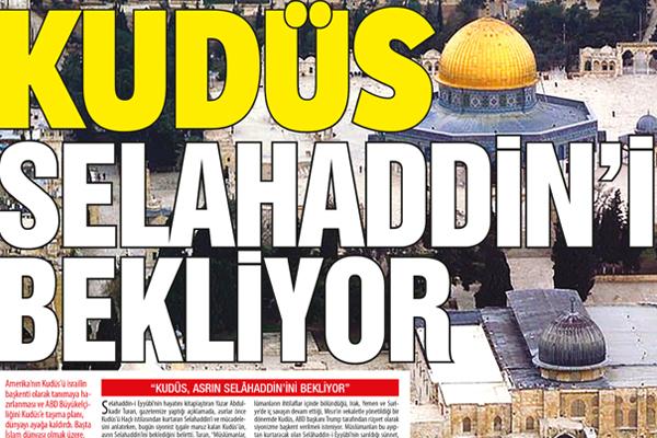 Haçlı tahriki, siyonist zulmü… KUDÜS SELAHADDİN'İ BEKLİYOR