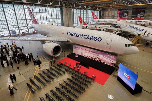 THY ilk Boeing 777 kargo uçağını teslim aldı