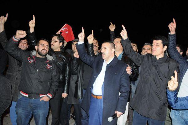 Emperyalist ABD'nin Kudüs kararı Gaziantep'te telin edildi