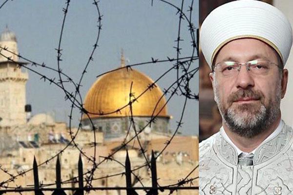 Kudüs'ü bir avuç azınlığa teslim gayretidir