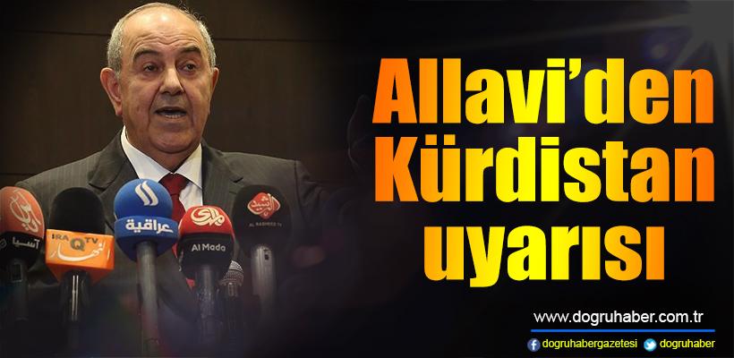 Allavi`den Kürdistan uyarısı