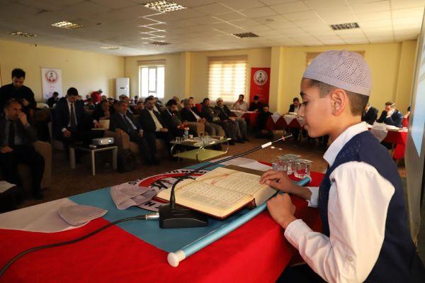 Okullar arası Kur'an-ı Kerim'i güzel okuma yarışması
