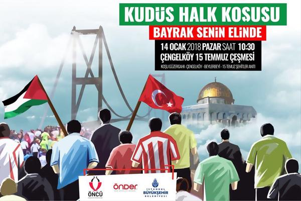 İstanbul, Kudüs için koşacak
