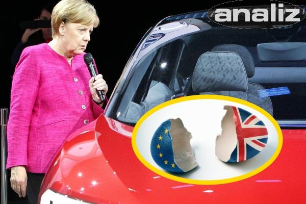 Sert brexit Alman otomotiv sanayini vurur