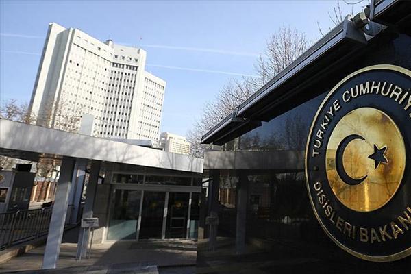 Türkiye'den işgal rejimine kınama