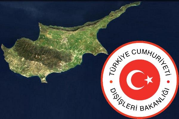 Dışişlerinden Kıbrıs'la ilgili maddeye tepki
