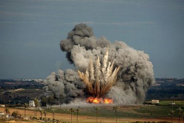 Terör çetesi israil yine bombaladı