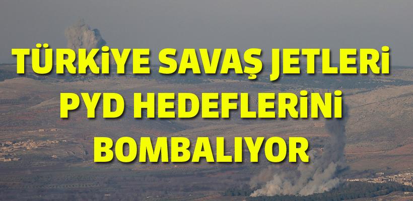 Afrin sınır hattında uçak sesleri duyuluyor...