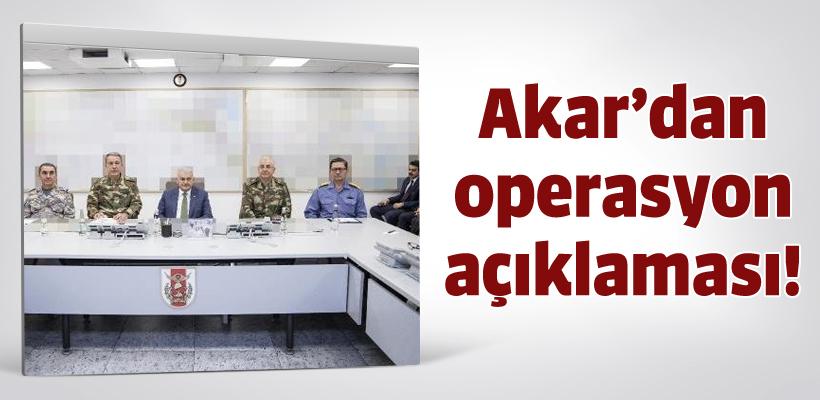 Genelkurmay`dan operasyon açıklaması!