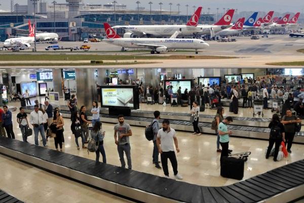 ABD nüfusundan fazla yolcu taşıdı