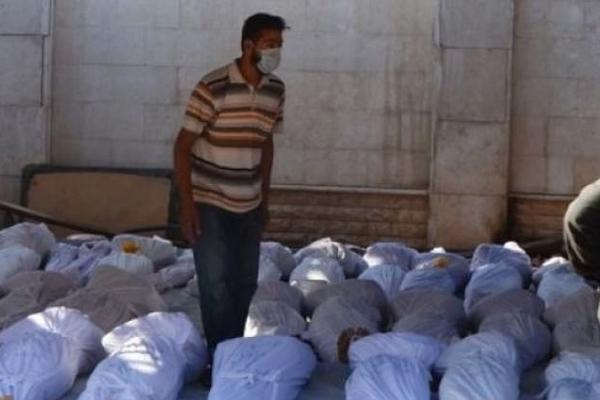 Esed'in kimyasal katliamı raporlandı