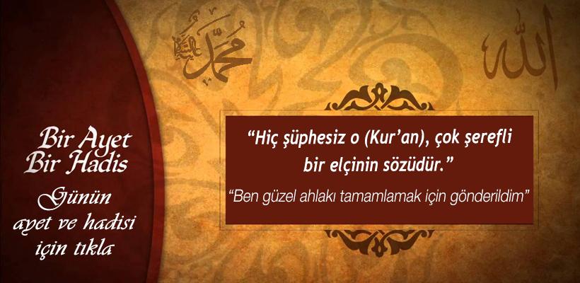 Hükümranlık elinde olan Allah, yücedir