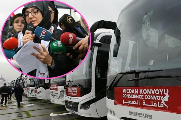 Vicdan Konvoyu İstanbul'dan yola çıktı