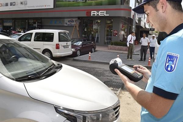 Ankara'da otopark ücreti 1 TL oldu