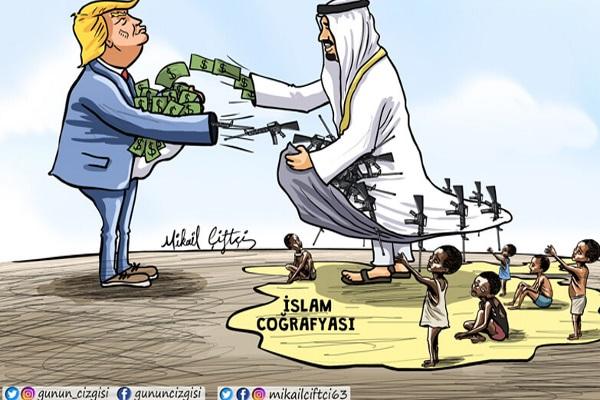 ABD'nin silah satışının yarısı İslam coğrafyasına!