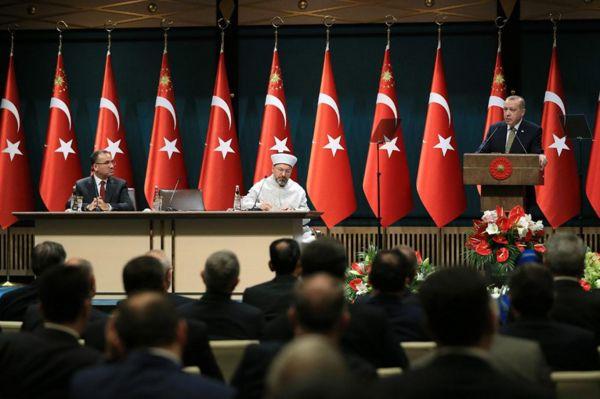 Erdoğan il müftülerini kabul etti