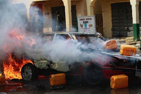 Nijerya'da katliam