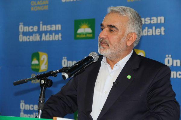Yapıcıoğlu HÜDA PAR Batman İl Başkanlığı kongresine katılacak