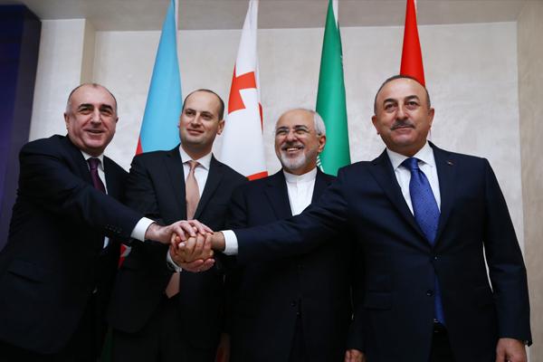 Türkiye-Azerbaycan-Gürcistan-İran Dışişleri Bakanları Dörtlü Toplantısı