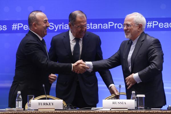 Astana`da Suriye konulu dışişleri bakanları toplantısı başladı