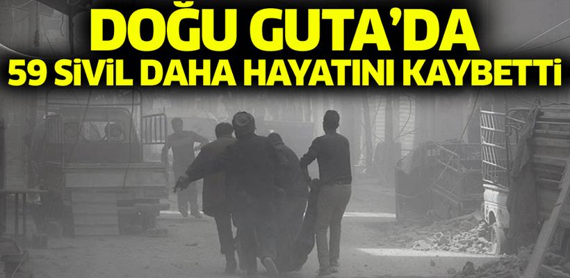 Doğu Guta`da 59 sivil daha hayatını kaybetti