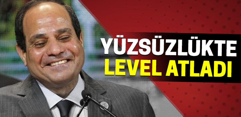 Yüzsüzlükte level atladı