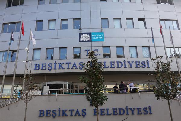Beşiktaş Belediyesi`nde arama