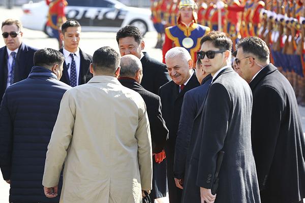 Başbakan Yıldırım Moğolistan`da