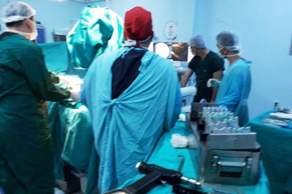 Derik'te ilk kemik ameliyatı yapıldı