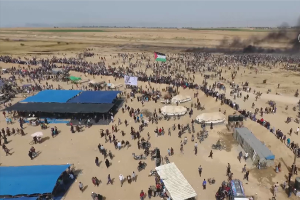 Gazze ve Han Yunus`taki büyük yürüyüş gösterileri - 2
