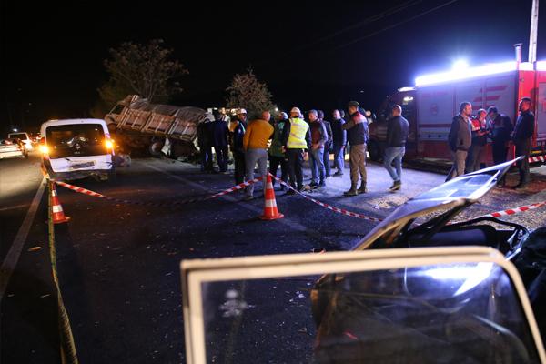 Nevşehir'de kaza: 5 ölü 4 yaralı