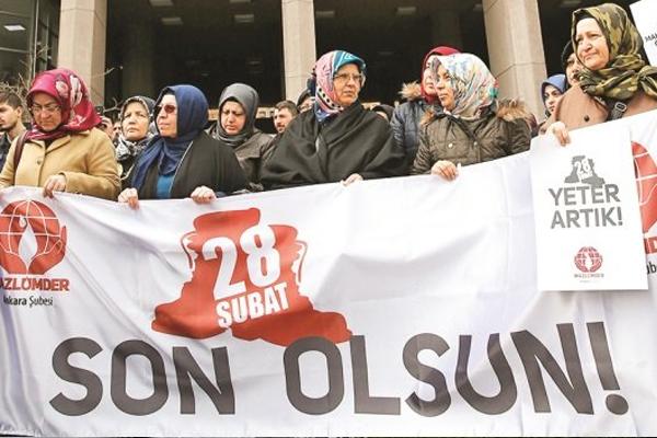 Karar vicdanları yaraladı! 28 Şubat Mağdurları hâlâ içerde