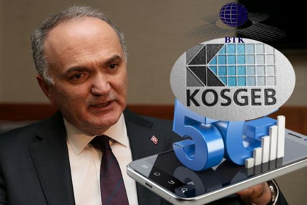KOSGEB ve BTK 5G için güçlerini birleştirecek
