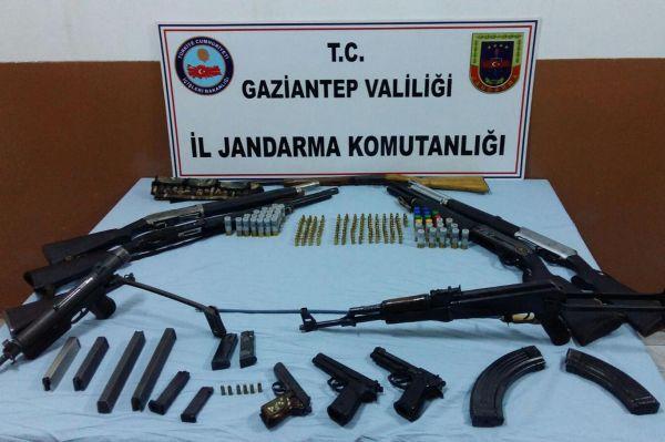Gaziantep'te silah operasyonu