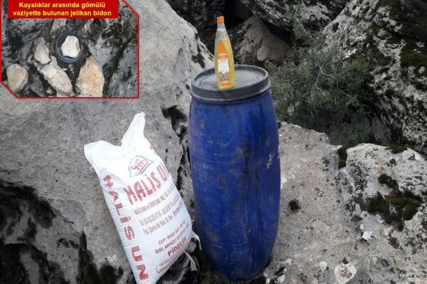 Diyarbakır`da mühimmat ve uyuşturucu ele geçirildi