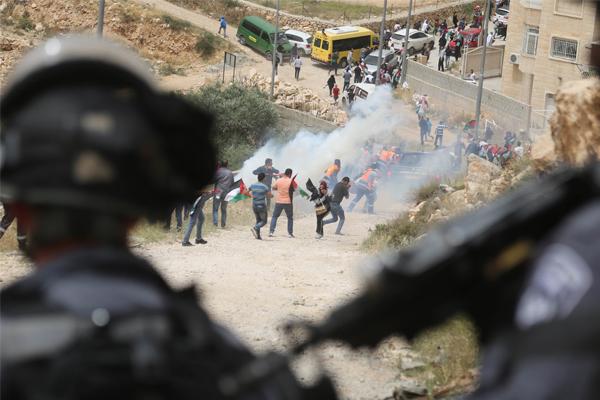 İşgal askerlerinden Batı Yaka`daki gösteriye müdahale