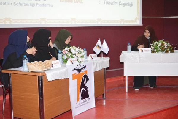 TESSEP'ten 'Popüler Kültürün Yansımaları' konulu panel