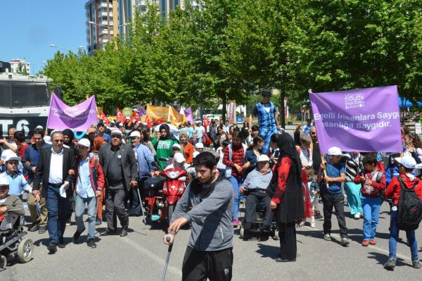 Diyarbakır'da 'Büyük Engelsizler Buluşması' düzenlendi
