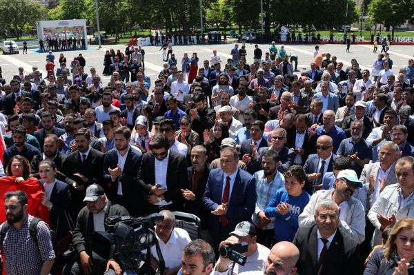 Siyonist işgalci teröristler Gaziantep'te telin edildi