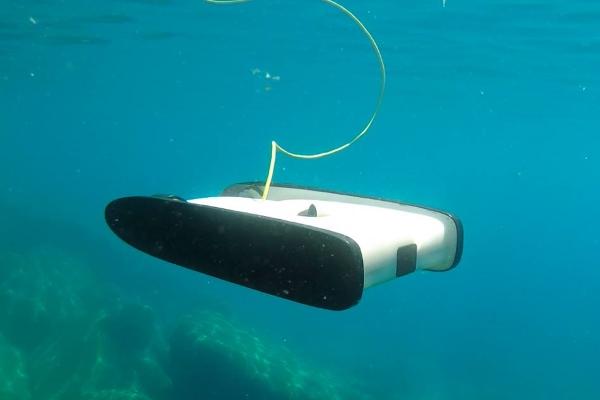 Su altı drone'larıyla anlık keşifler