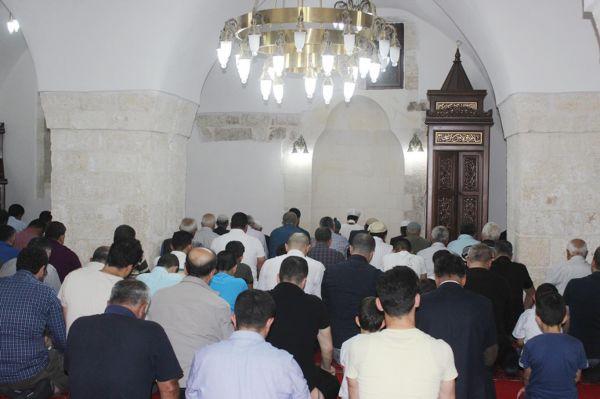Nusaybin'de de ilk teravih heyecanı