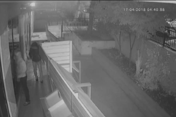 Marketlerden hırsızlık kamerada
