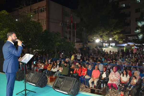 Kızıltepe`de ilahi konserine yoğun ilgi