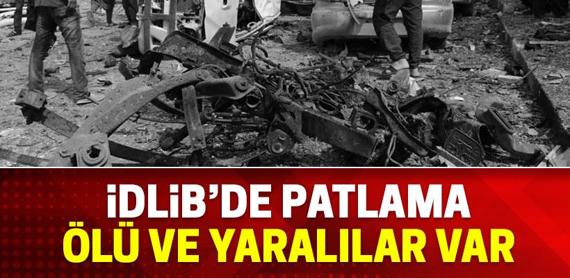 İdlib`de patlama: 2 ölü 50 yaralı