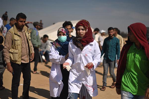 Gazze'nin 'yardım meleği Rezzan'