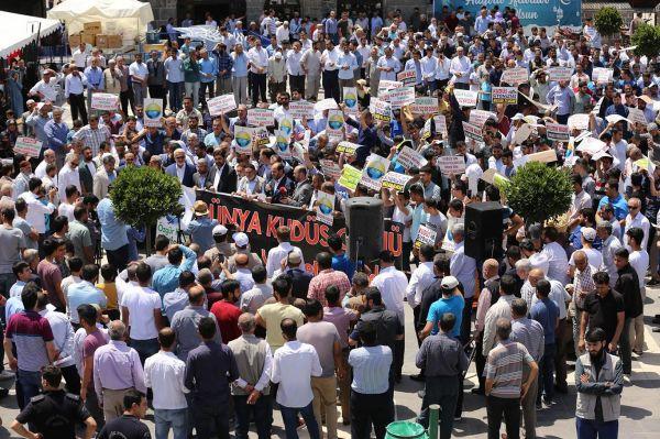 'Kudüs birleşmemizi beklemektedir'
